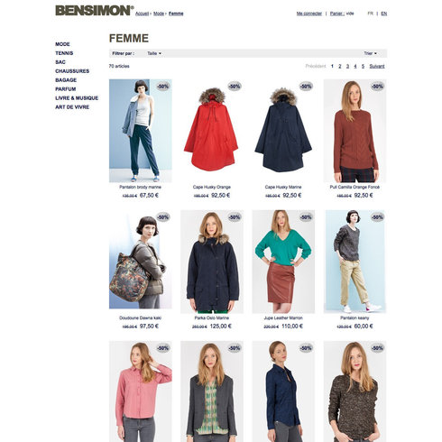 Bensimon e-shop